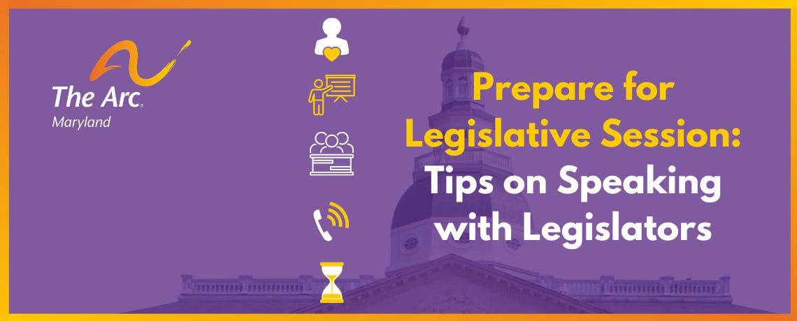 Tips on Speaking with Legislators