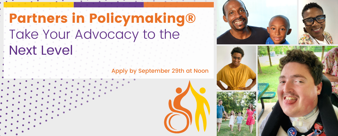 Apply to Be a Partner in Policymaking!